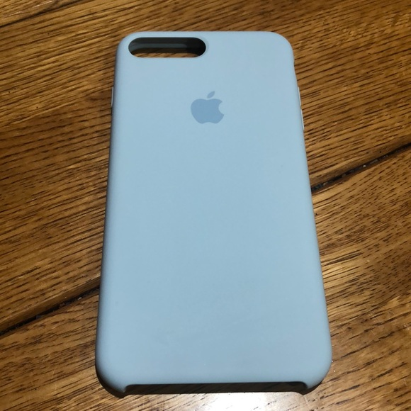 online store 38a98 2e919 Sky Blue Apple Silicone iPhone 7 / 8 Plus Case